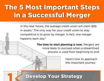 5 Steps to Credit Union Merger Success